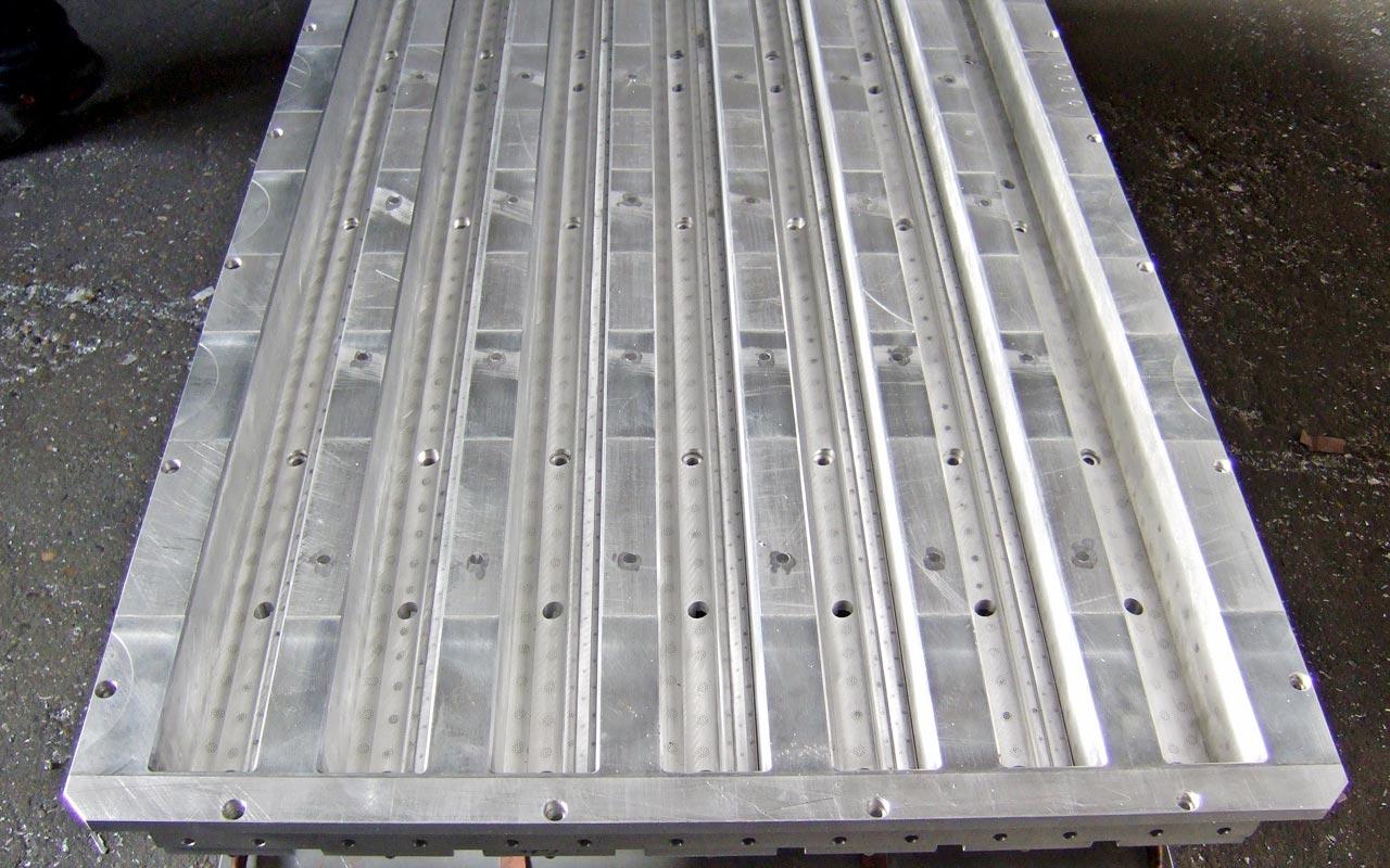 Stampo in alluminio per imballaggi di polistirolo