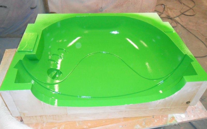 Mold for fiberglass