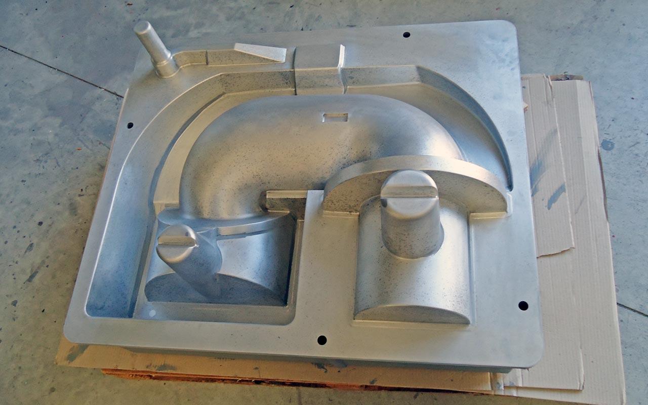 Modello per fonderia in alluminio