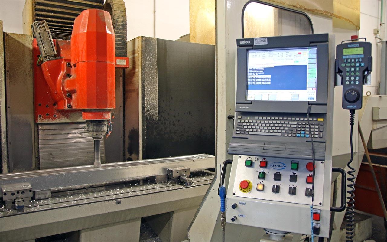Fresa CNC - Lavorazione alluminio