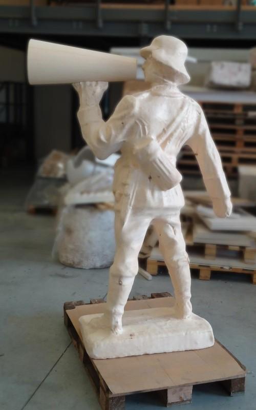 Prototipo soldato per modello fonderia