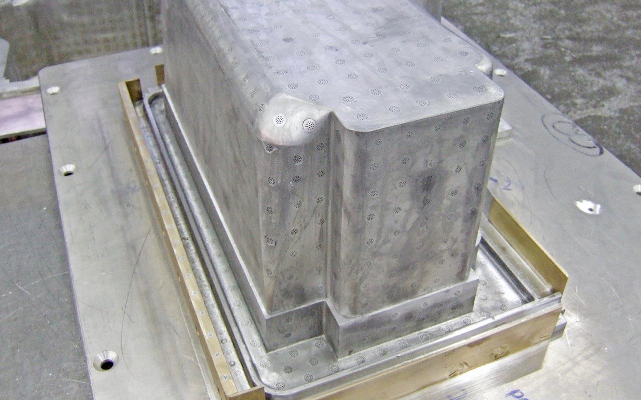 Mold for styrofoam