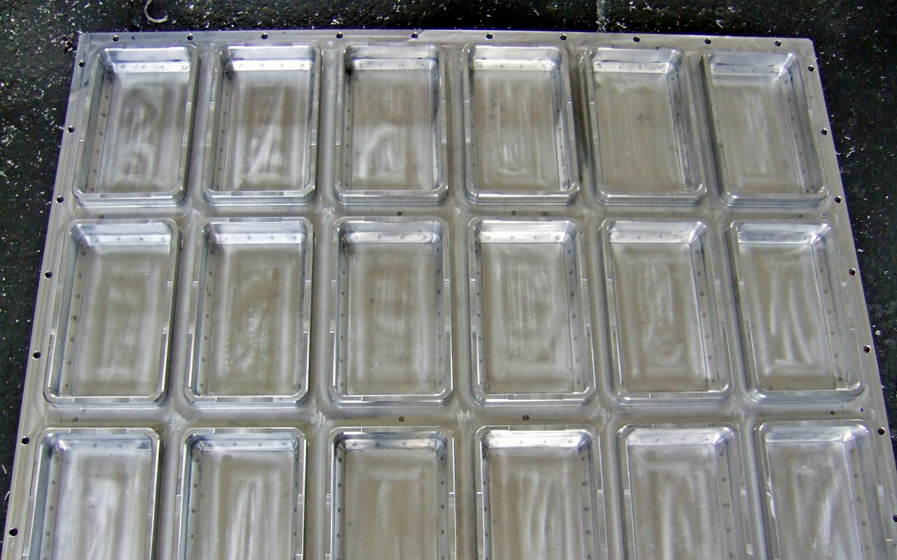 Mold for styrofoam