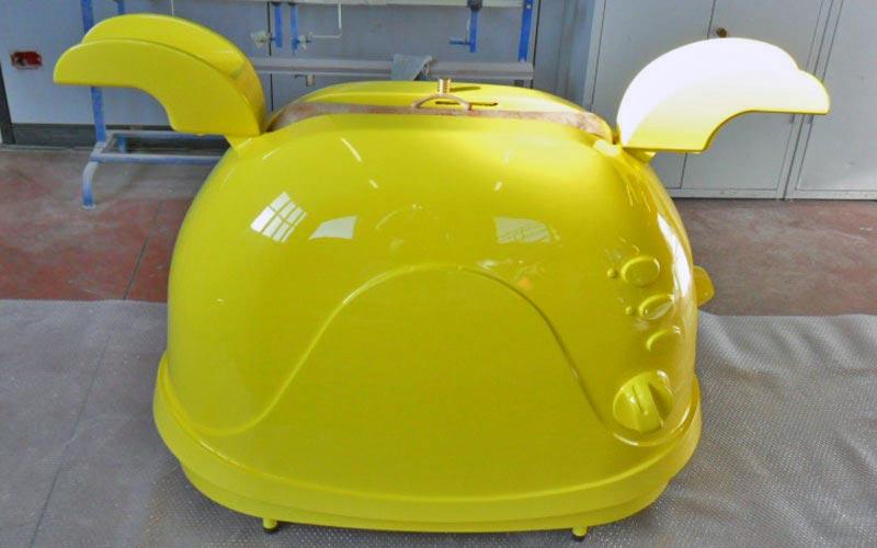 Fiberglass prototype