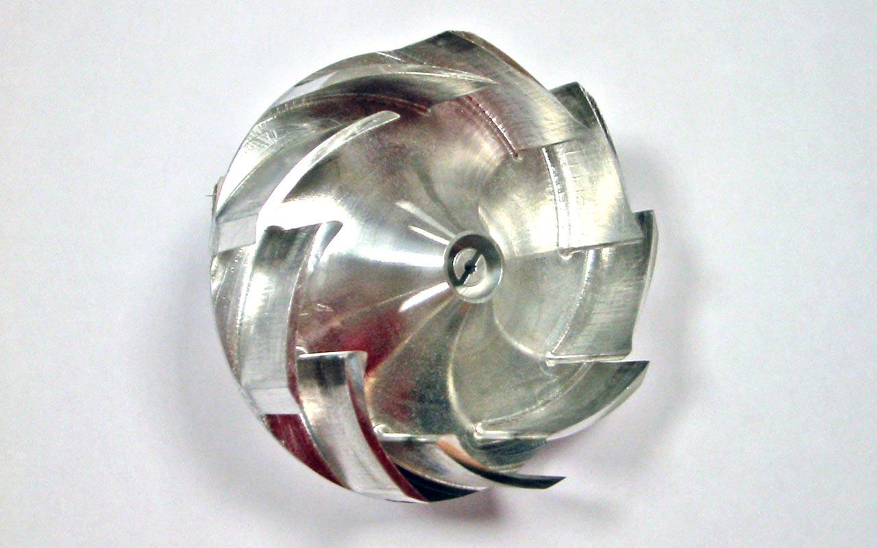 Ventola - Prototipo in alluminio